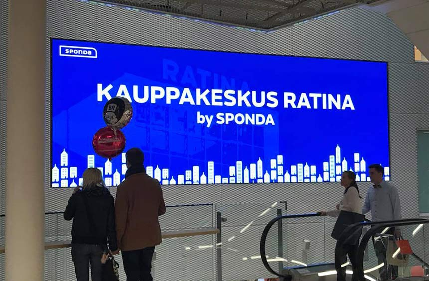 Ratina Shopping Mall Innox 3.1 LED Video Display